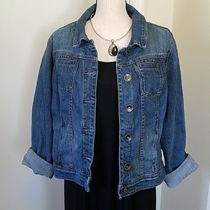 Lane Bryant Denim Jacket EUC size 16